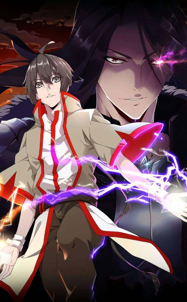 Magic emperor : manhwa with overpowered main character